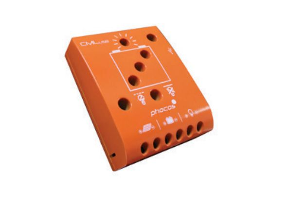 Controlador de Carga Phocos CML20 USB, 20/20A 12/24V