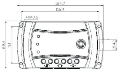 Controlador de Carga SR 10A 12/24V PWM