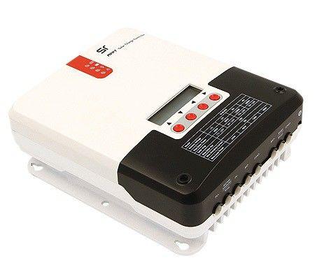 Controlador de Carga Solar SR 30A 12/24V MPPT