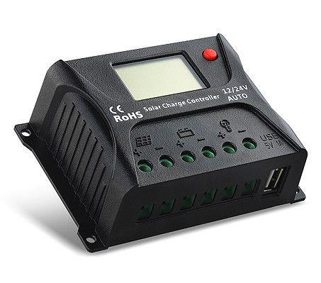 Controlador de Carga Solar SR HP 10A 12/24V PWM