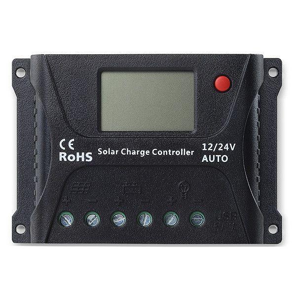 Controlador de Carga Sunenergy SR HP 10A 12/24V PWM