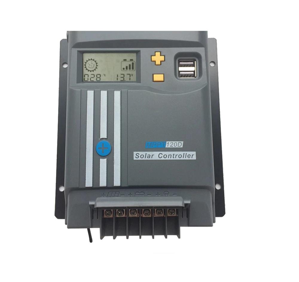 Controlador de Carga Sun Energy MPPT120D 12/24V (20A)