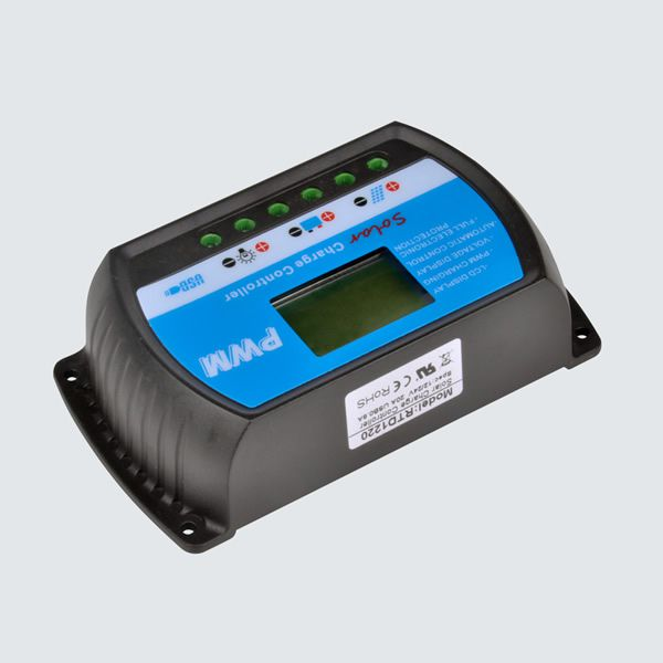 Controlador de Carga Sun Energy RTD1230, 30A 12/24V