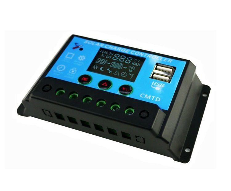 Controlador de Carga Sunenergy CMTD20, 20A 12/24V