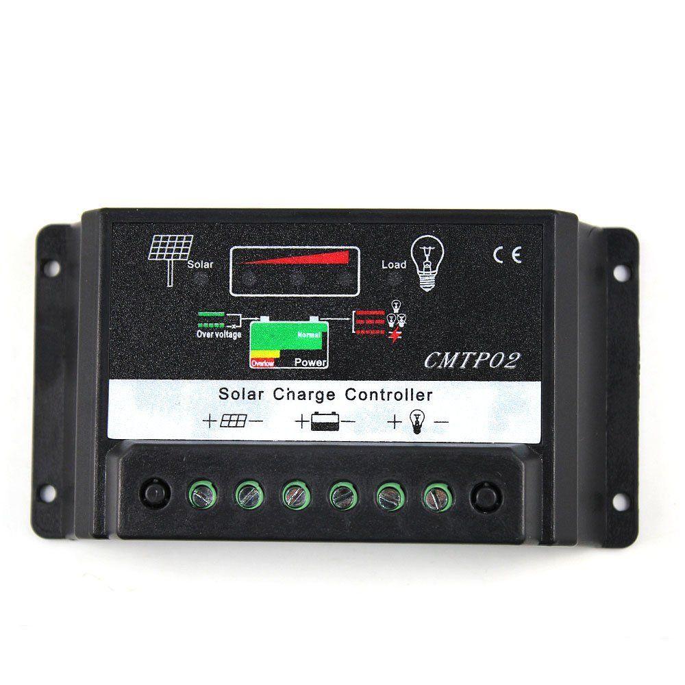 Controlador de Carga Sunenergy CMTP02, 30A 12/24V
