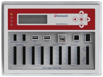 Data Logger Meteo-40M M21010 com 22 canais - Ammonit