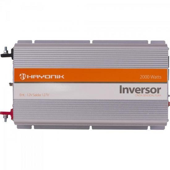 Inversor Hayonik Senoidal Pura 12Vcc/127Vca (2000W)