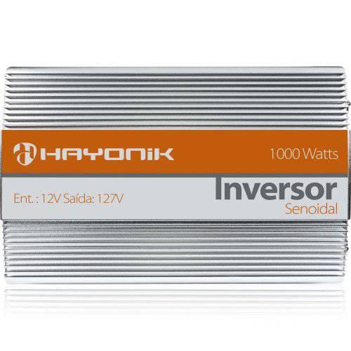 Inversor Hayonik Senoidal Pura 12Vcc/220Vca (1000W)