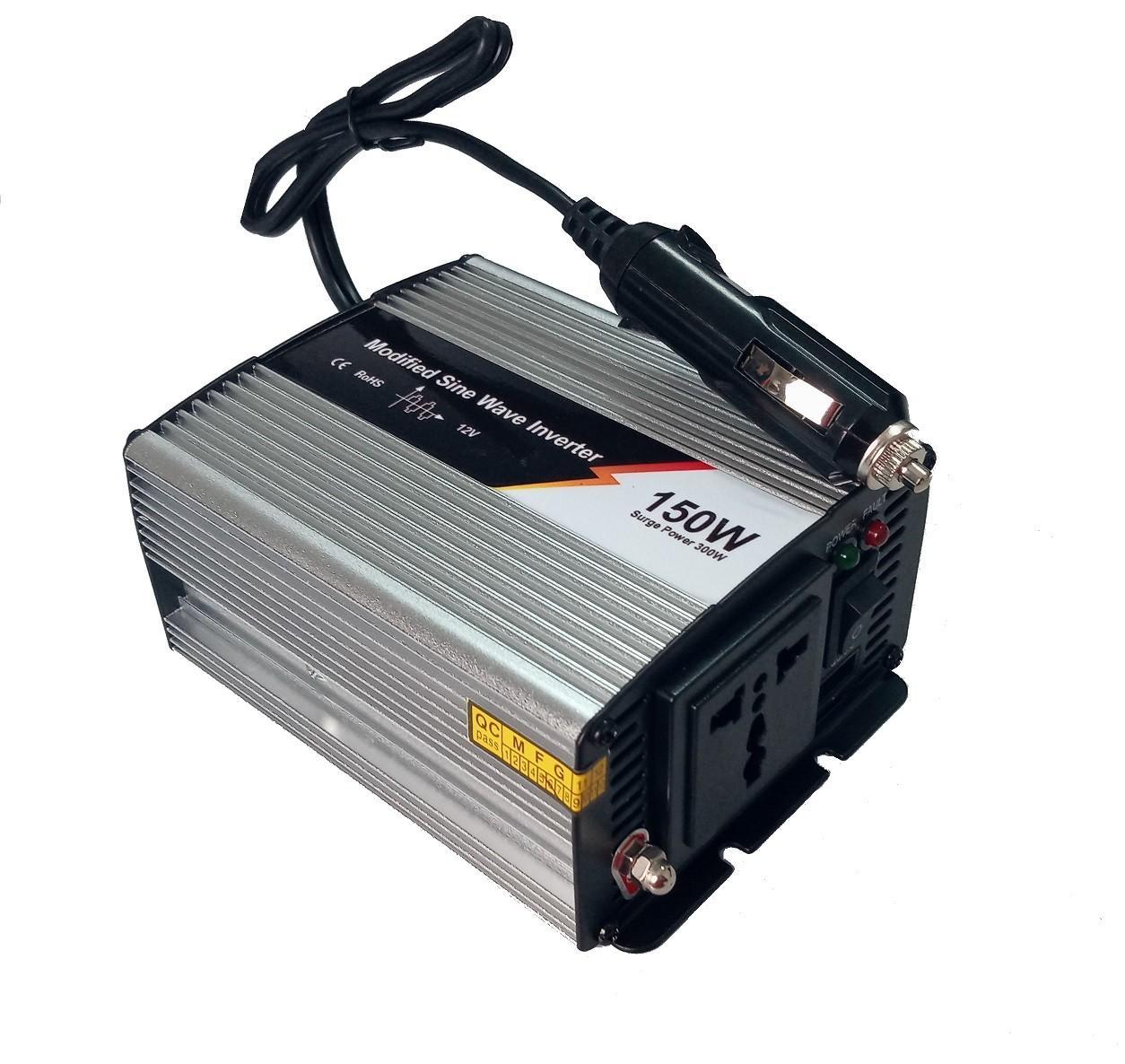 Inversor Off Grid Jay Energy 12Vcc/127Vca (150W)