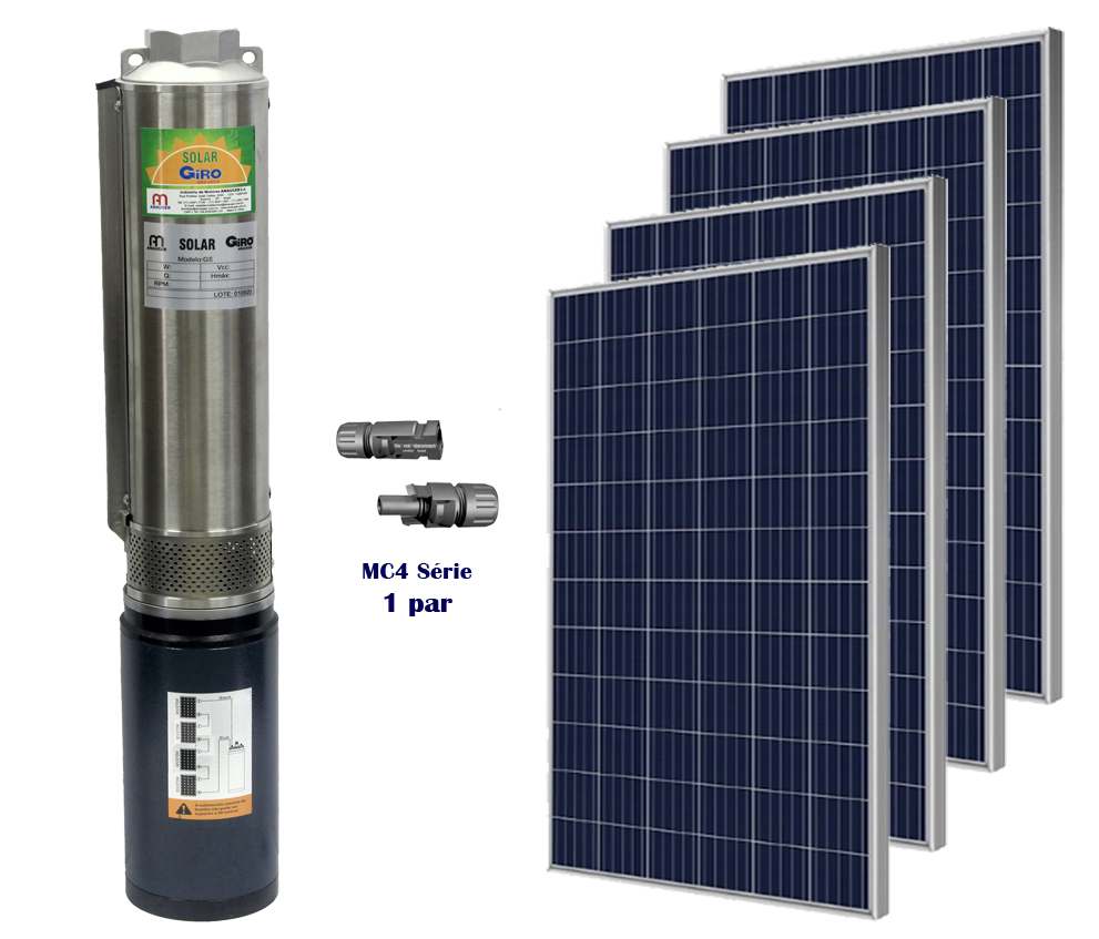 Kit Bomba d'água solar Giro Anauger 1000W