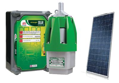 Kit Bomba solar   Poço até 40 metros até 7000 Litros - dia