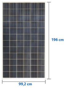 Painel Solar Fotovoltaico Canadian 330W