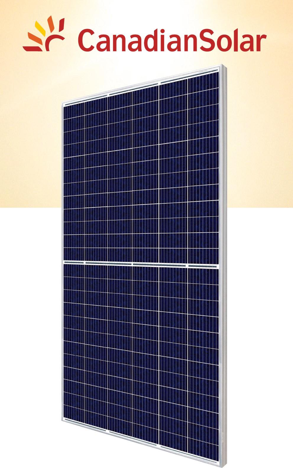 Painel Solar Fotovoltaico Canadian 360W