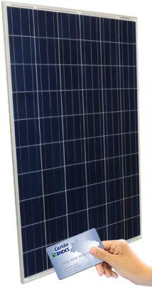Painel Solar Fotovoltaico Globo Brasil 270w