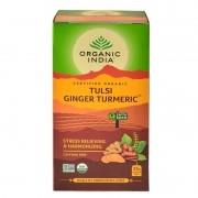 Chá Tulsi Gengibre e Cúrcuma - Organic India