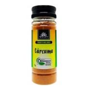 Cúrcuma orgânica, 70g – Kampo de Ervas