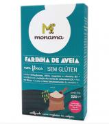 Farinha de aveia sem glúten, 220g - Monama