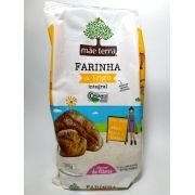 Farinha de trigo integral orgânica, 500g - Mãe Terra