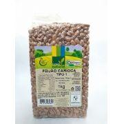 Feijão carioca orgânico, 1kg – Coopernatural