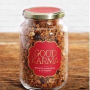 Granola de baunilha & cranberry, 270g – Good Karma