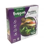 Hambúrguer de Beringela Quinoa e Chia - Tensei