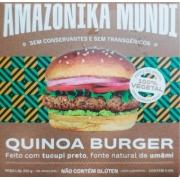 Hambúrguer de Quinoa - Amazonika