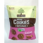 Mini cookies integrais orgânicos, 120g – Mãe Terra