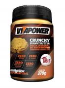 Pasta integral de amendoim com amendoim granulado, 370g - Vitapower