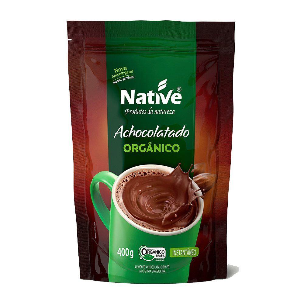 Achocolatado orgânico instantâneo, 400g – Native