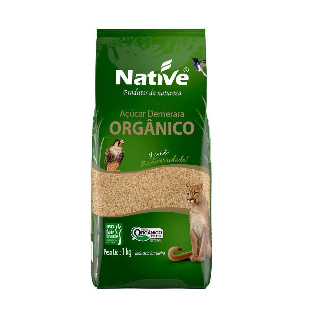 Açúcar demerara orgânico, 1kg – Native