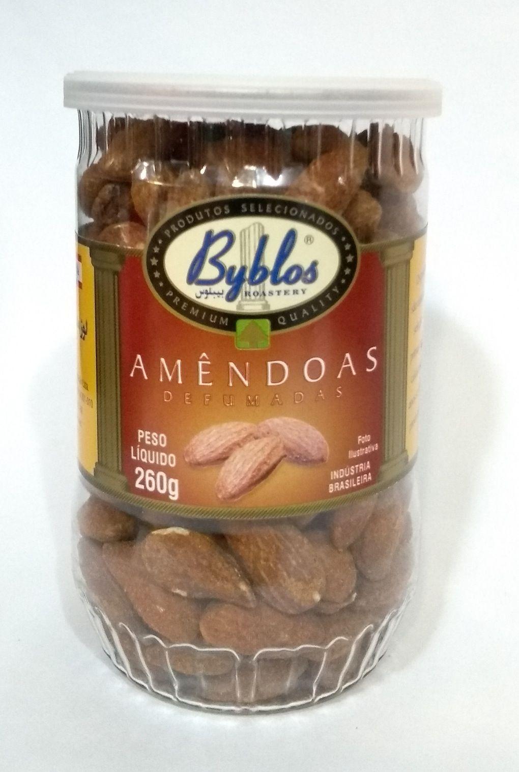 Amêndoas defumadas, 260g - Byblos