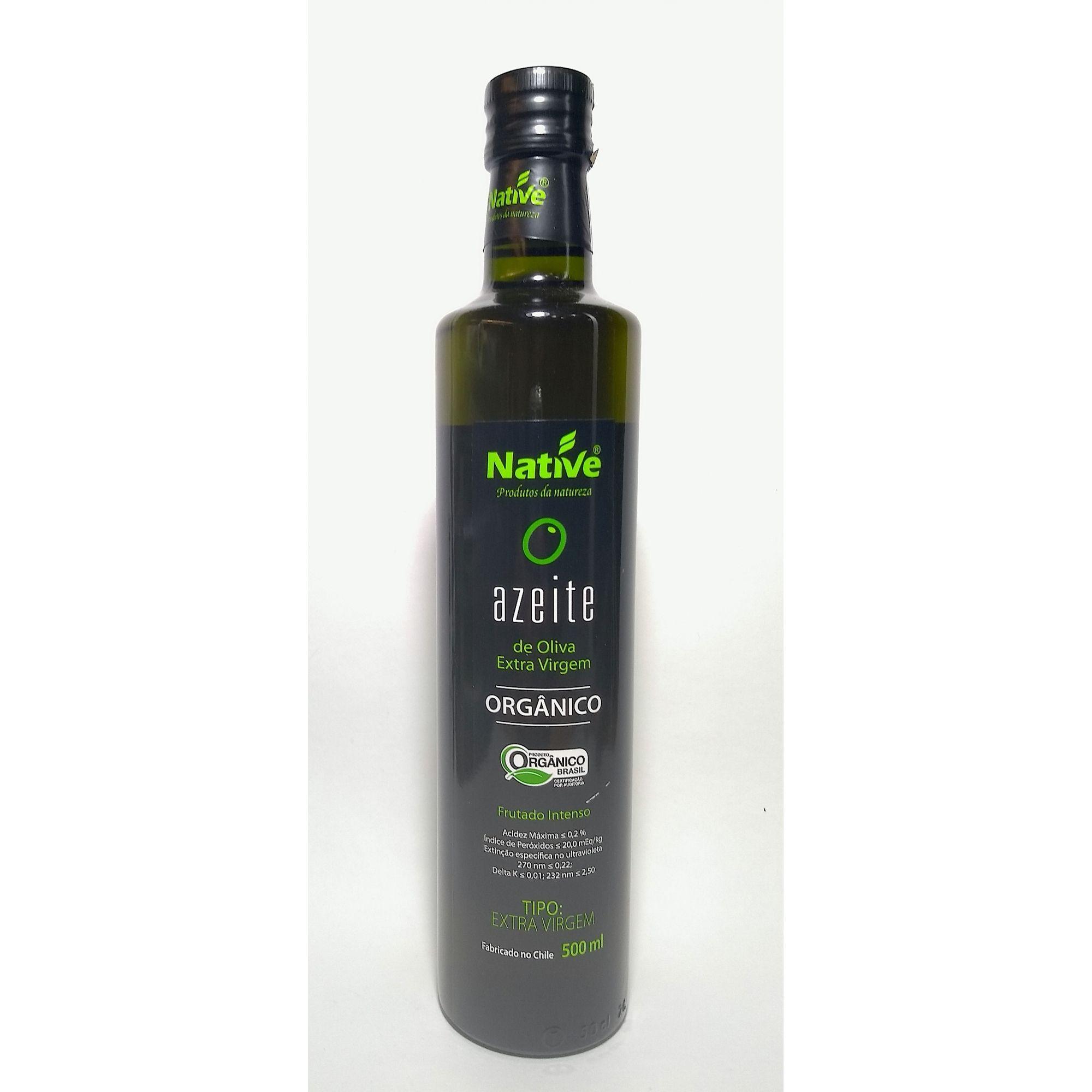 Azeite de oliva extra virgem orgânico – Native