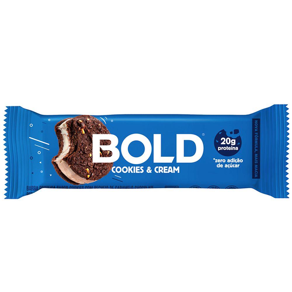 Barra de Proteína Cookies & Cream - BOLD
