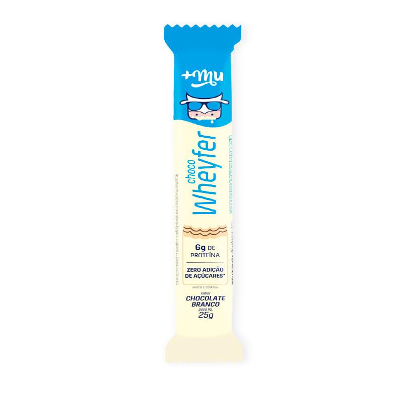 Barrinha Wheyfer Chocolate Branco - Maismu