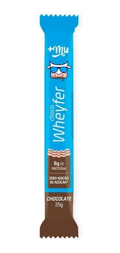 Barrinha Wheyfer Chocolate - Maismu
