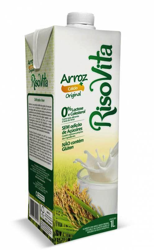 Bebida de arroz, sabor original 1L - Risovita