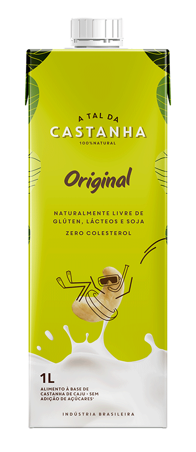 Bebida de castanha de caju original – A Tal da Castanha