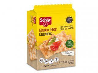 Biscoito crackers sem glúten, 210g – Schar
