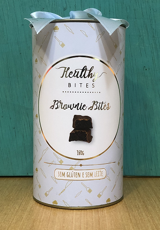 Brownie Bites com Açúcar de Coco - Healthy Bites