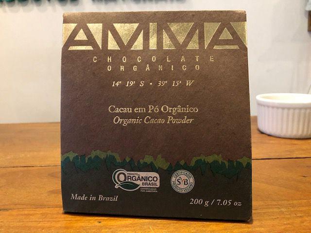 Cacau em pó orgânico, 200g – Amma