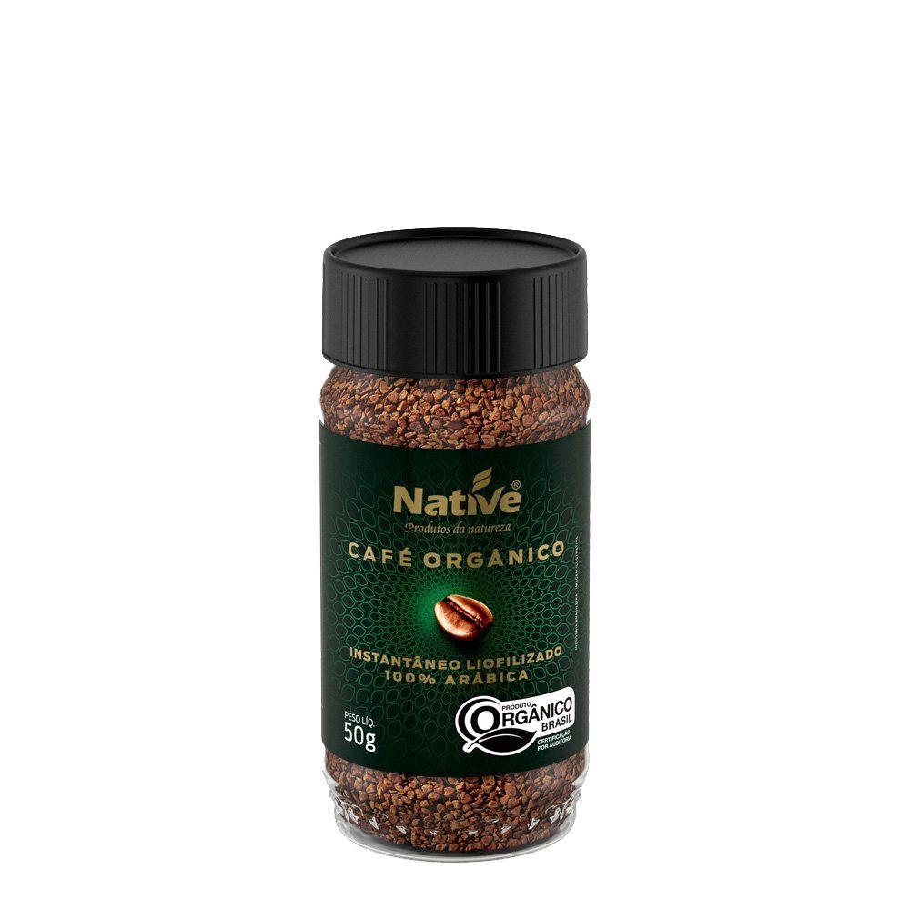 Café orgânico instantâneo, 50g – Native