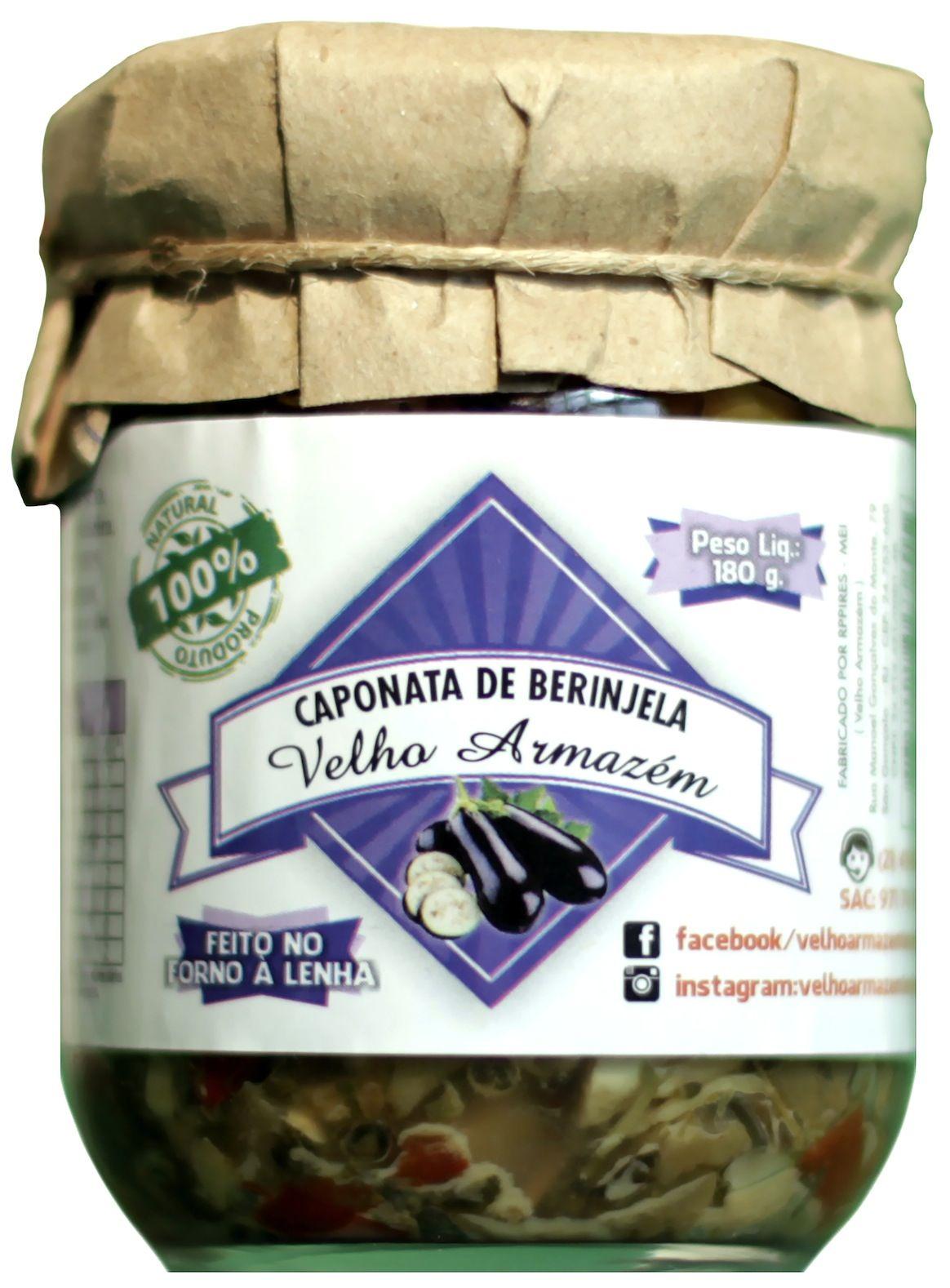Caponata de berinjela, 180g – Velho Armazém