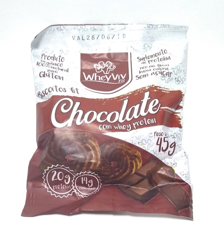 Cesta de biscoitos fit - Wheyviv