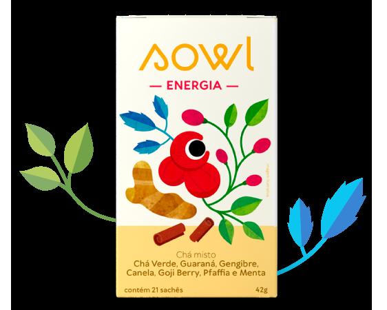 Chá Energia - Sowl