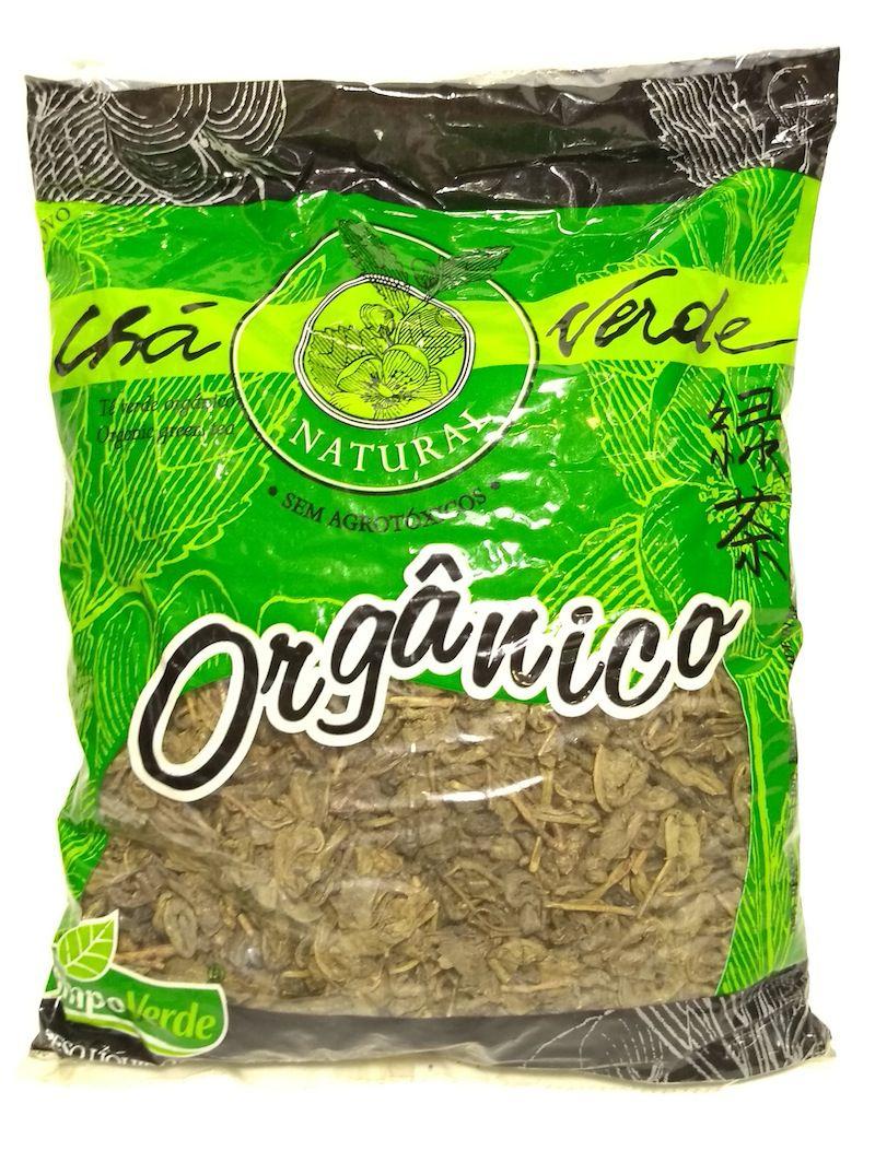 Chá verde orgânico, 200g - Campo Verde
