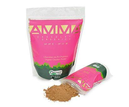 Chocolate em pó orgânico, 200g - Amma