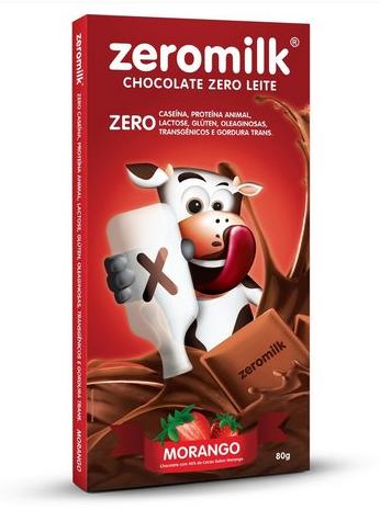 Chocolate zeromilk, 80g – Genevy