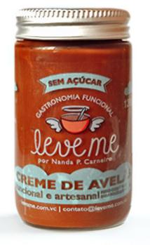 Creme de avelã, 120g - Leveme