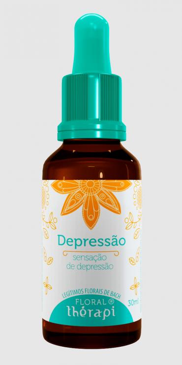 Depressão 30ml - Floral Thérapi
