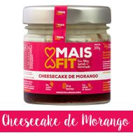 Doces Mais Fit 200g - cheesecake de morango